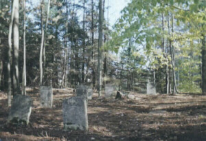 photo of gravestones in Brownville Cemetery