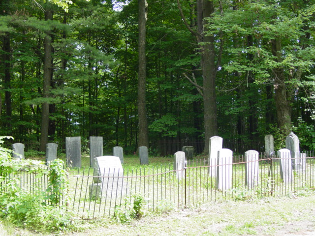 July 3, 2004 photo of Ramsdill Cemetery